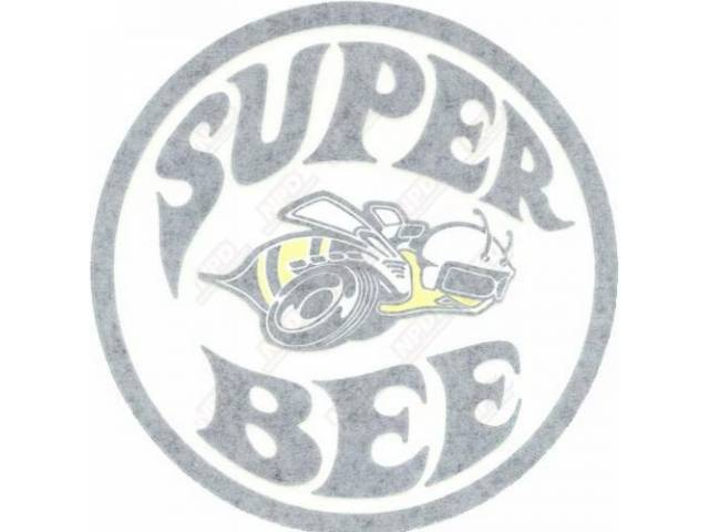 Decal Super Bee Quarter Panel Rh White Correct