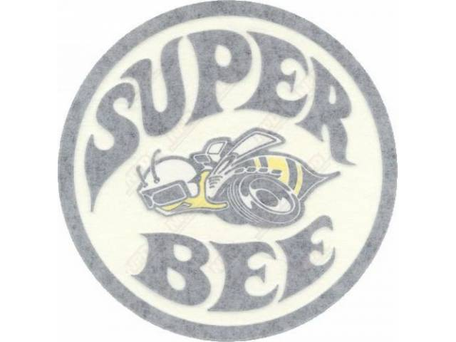 Decal Super Bee Quarter Panel Lh White Correct