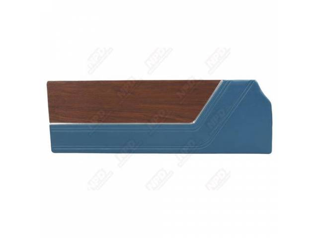 Door Panels Dark Metalic Blue Coachman Grain