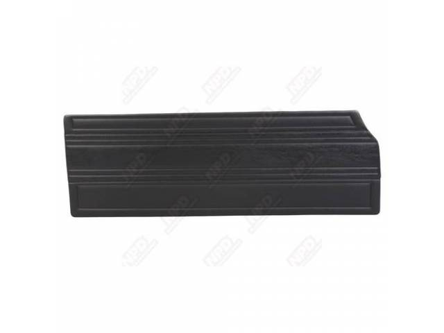 Front Door Panels Black Custom Dcor