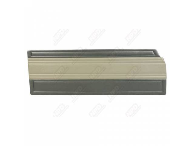 Door Panels, Dark Green / Lt Green Two