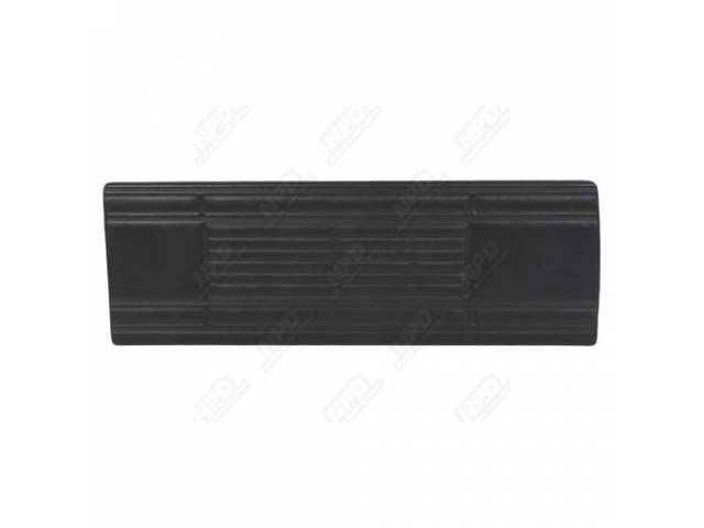 Front Door Panels Black Standard Int