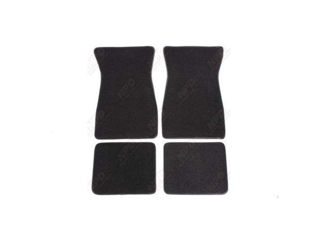 Floor Mat Plain Black