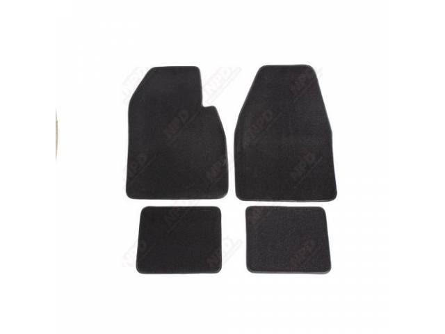 Floor Mat Plain Plain Floor Mats 66-70 B-Body