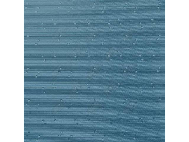 Headliner, Perforated, Lt Blue