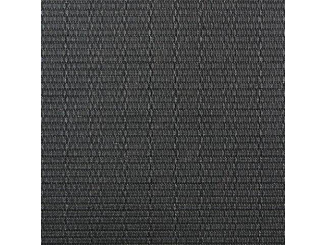 Headliner Non-Perforated Black 6-Bow