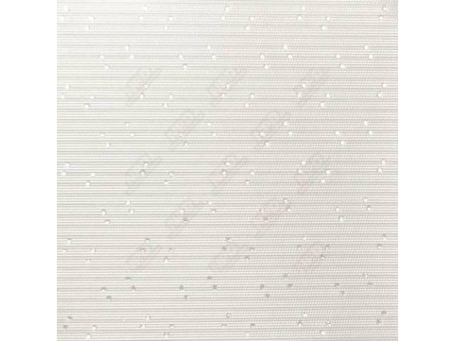 Headliner Perforated White Hardtop