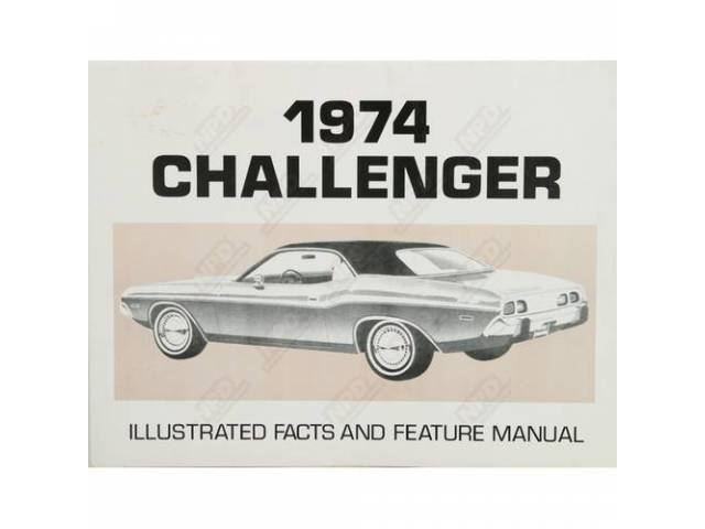 Facts And Feature Manual, Challenger