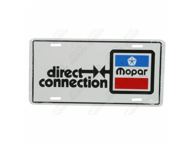 Plate, Direct Connection