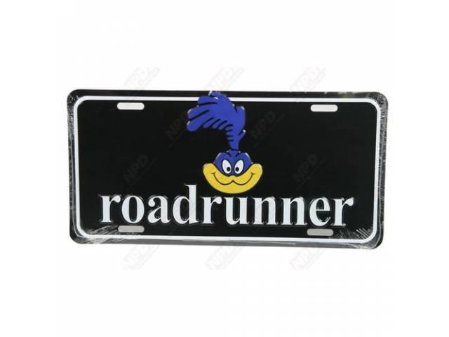 Plate Roadrunner W/ Bird