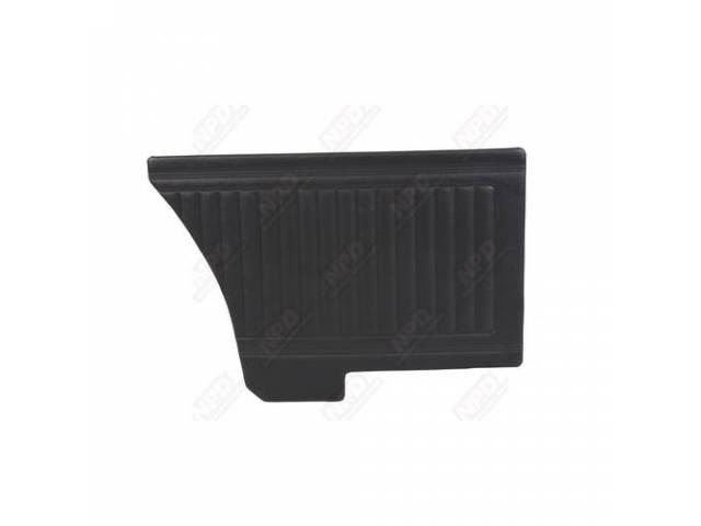 Rear Quarter Trim Panels, Black, Coachman Grain