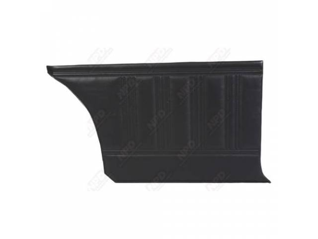 Rear Quarter Trim Panels Black Coachman Grain