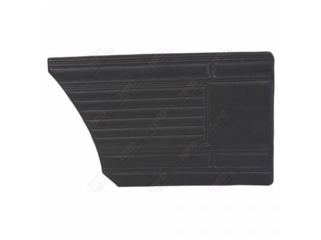 Rear Quarter Trim Panel, Black, Coachman Grain