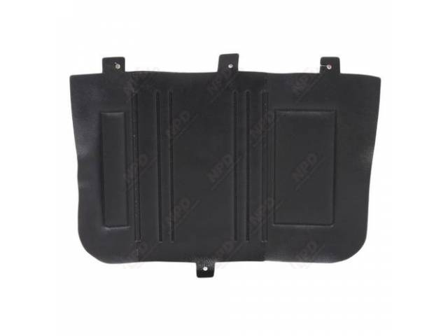 Rear Quarter Trim Panels Convertible Black Custom Dcor