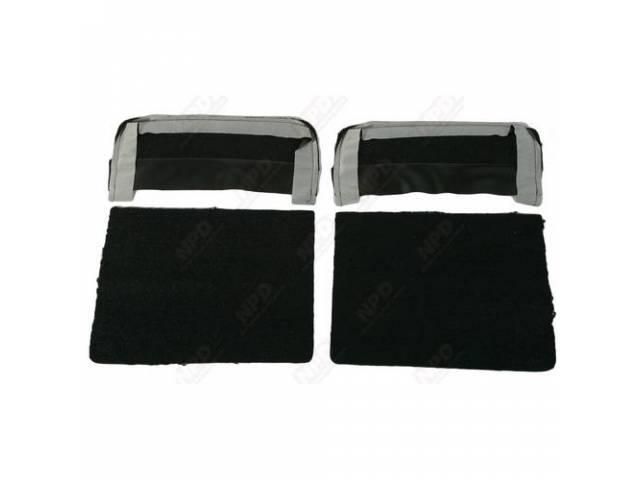 Seat Back Black