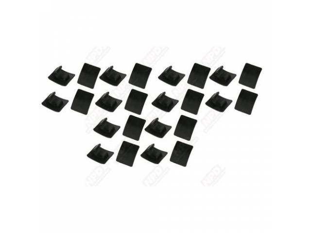 Top Boot Clip Kit, (22) Pc