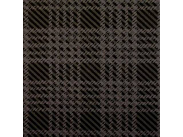 Trunk Mat, Grey Plaid