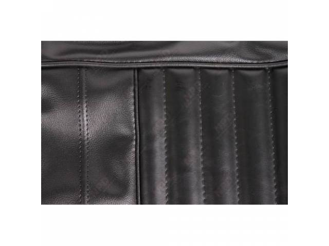 Rear Seat Uph Black Coachman Grain W/ Belmont