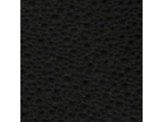 HEADLINER, ORIGINAL STYLE, MOONSKIN GRAIN, BLACK