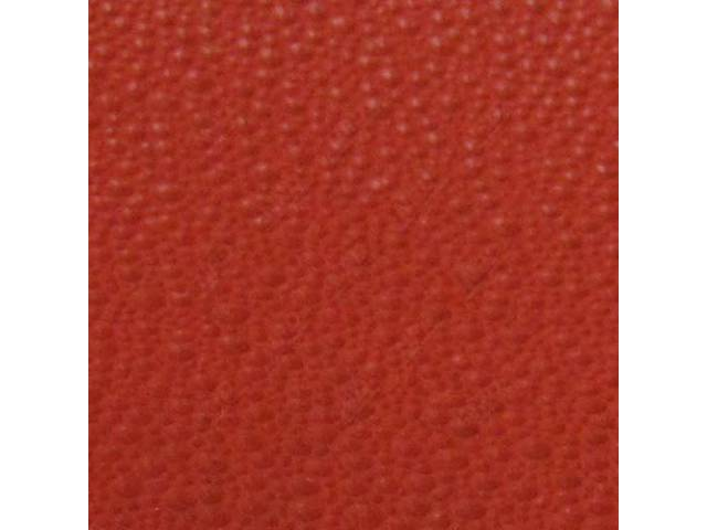 HEADLINER Moonskin Grain BRIGHT RED