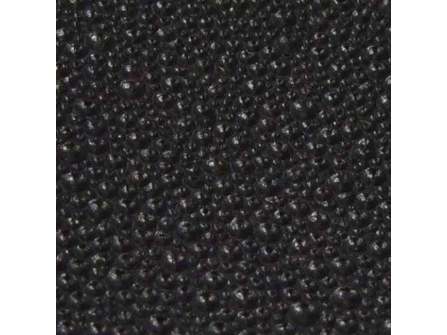 HEADLINER, Moonskin Grain, BLACK
