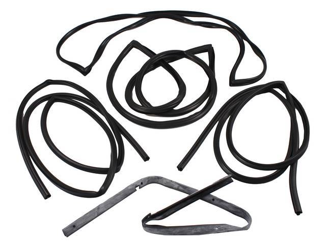 WEATHERSTRIP KIT, Basic, incl seals for windshield, back