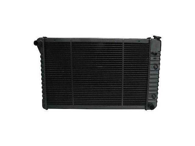 RADIATOR, Replacement Style, plastic tanks and aluminum core,