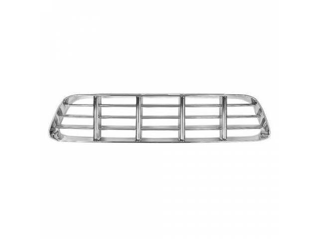 GRILLE, Radiator, chrome finish, repro