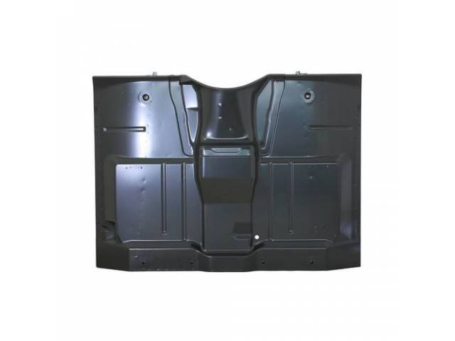 FLOOR PAN ASSY, Cab, 1-piece design w/ under