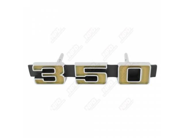 Emblem Goto C-1303-121a Grille 350 Incl Attaching Hardware