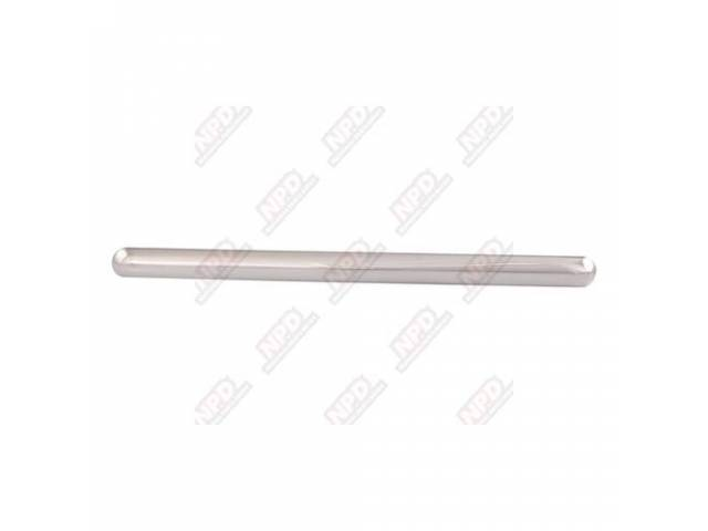 Molding Windshield Front Outer Center Stainless Repro