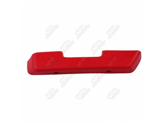 Arm Rest Front Door Dark Red Rh Repro