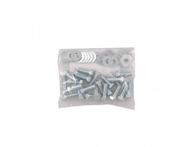 Bolt Kit Door Hinge Zinc 48 Repro