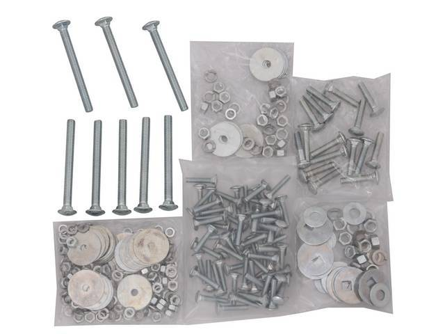 BOLT KIT, BED, STEPSIDE, LONGBED, CADMIUM BED, 89