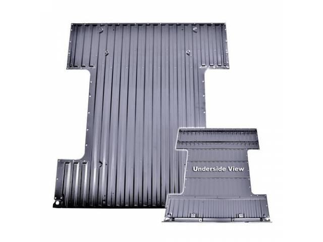 Panel Bed Floor Assy Rear Fleetside Shortbed 6-Ft