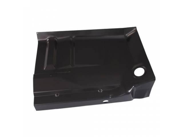 FLOOR PAN, CAB FLOOR, FULL, W / BACKING