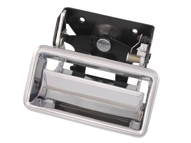 HANDLE AND BEZEL, TAILGATE, CHROME