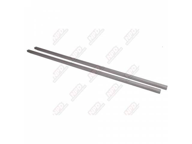 Angle Strip Set Unpolished Stainless Steel W/ Pre