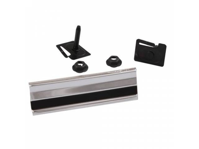 Molding Cab Side Upper Or Lower Incl Clips