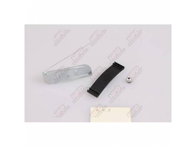 Clip Set Door Molding Lower Lh Or Rh