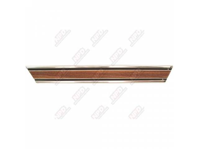 Molding Bed Lower Rear Lh Wood Longbed
