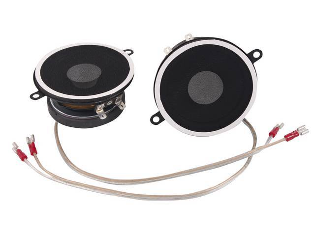 SPEAKER ASSY, IN-DASH, STD INCL DUAL 4 INCH