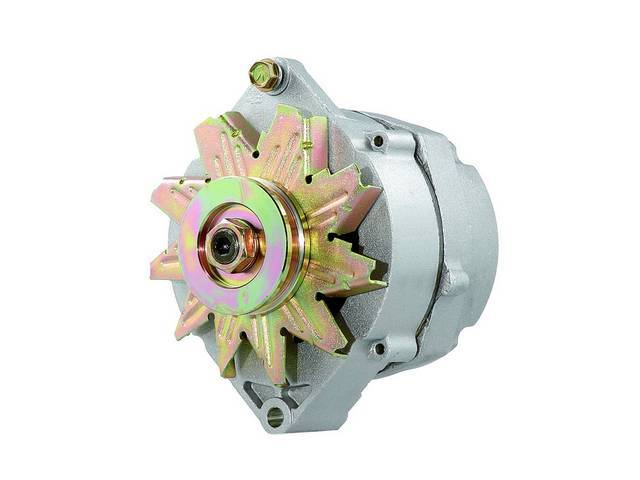 ALTERNATOR, REBUILT BY DELCO REMY, 42 AMPS