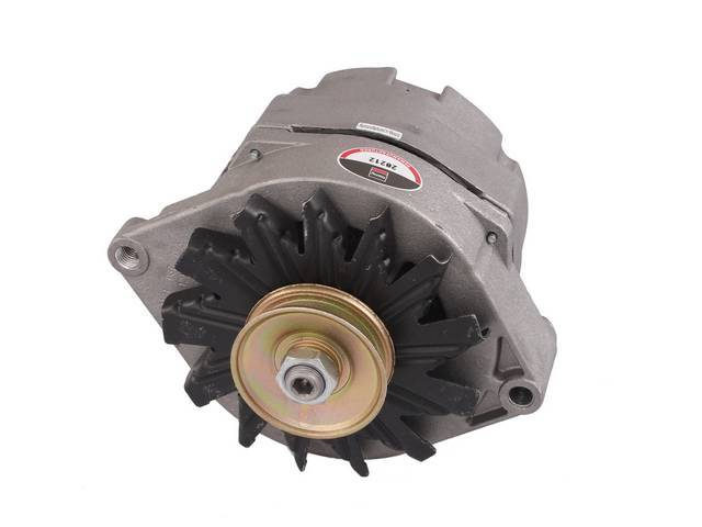 ALTERNATOR, REBUILT BY DELCO REMY, 108 AMPS