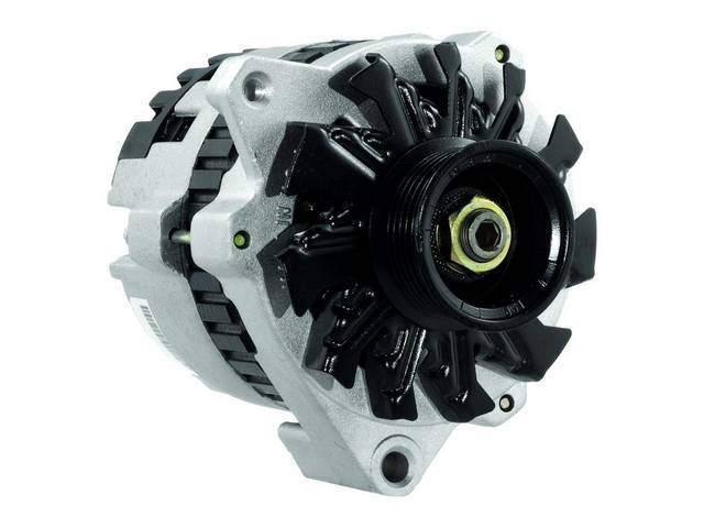 ALTERNATOR, REBUILT BY DELCO REMY, 105 AMPS