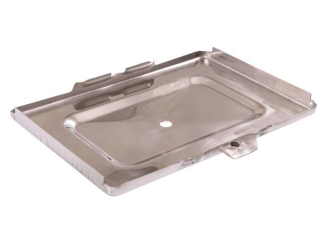 TRAY, Battery, Bottom, stainless repro