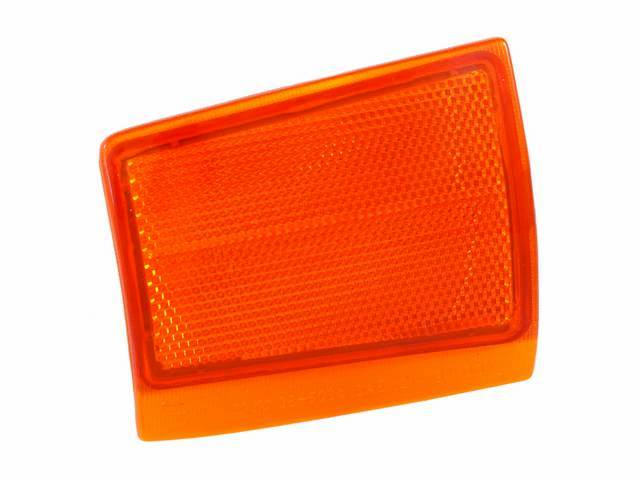 LIGHT ASSY, Side Marker, Front Lower, amber lens,