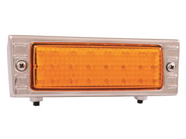 LIGHT ASSY, Parking, LED, RH or LH, amber