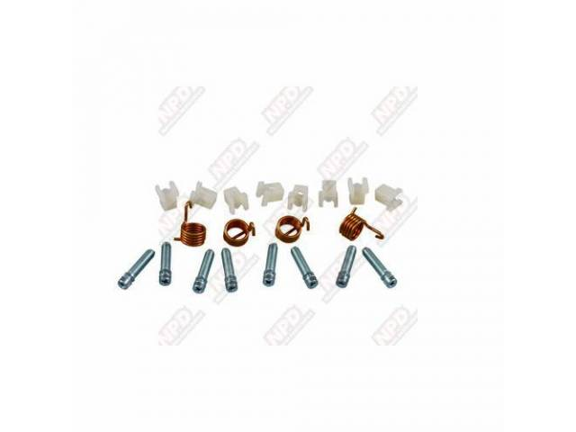 Fastener Kit Head Light Adjusters 10 Incl Nylon