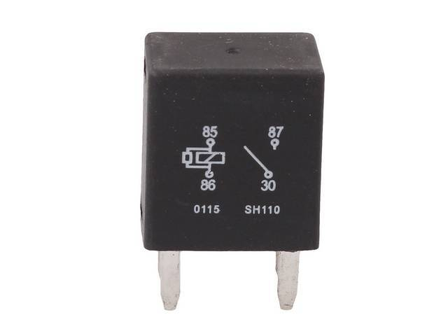 RELAY, Horn, 4 blade / pin, replaces GM p/n 12088567, Replacement part by Standard